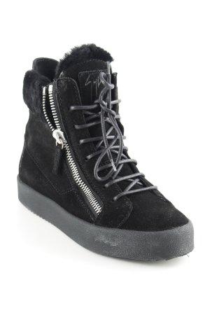 Giuseppe Zanotti Schlüpfsneaker schwarz klassischer Stil