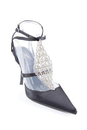 Giuseppe Zanotti Spitz-Pumps schwarz-silberfarben Elegant