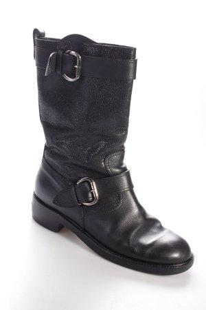 Giuseppe Zanotti Stiefel schwarz extravaganter Stil