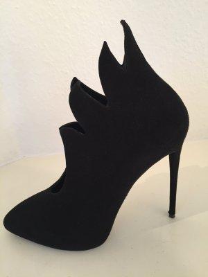 Giuseppe Zanotti Stiefeletten Schwarz Stiefel Boots Black 40-41 + Louboutin D-Bag