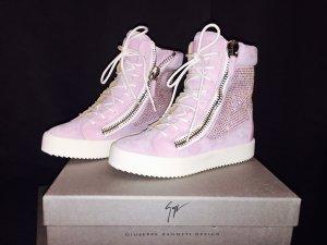 Giuseppe Zanotti Suede Leather Sneakers