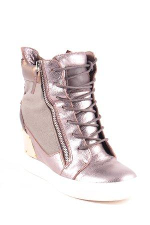 Giuseppe Zanotti Wedge Sneaker mehrfarbig Street-Fashion-Look