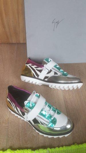 GIUSEPPE ZANOTTI zebra metallic sneaker NEU gr.42