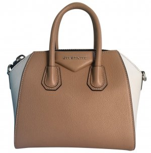 Givenchy Bowling Bag white-bronze-colored leather