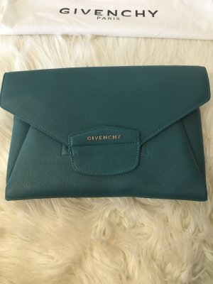 Givenchy Antigona Clutch Türkis