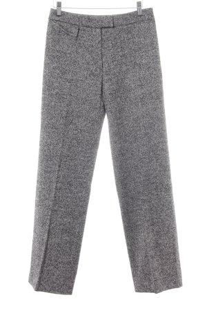 Givenchy Anzughose schwarz-hellgrau meliert 90ies-Stil