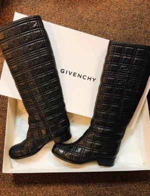 Givenchy Stivale militare nero Pelle