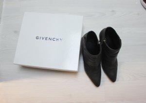 Givenchy Bottines gris foncé-gris anthracite
