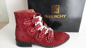 Givenchy Boots, weinrot, Gr.38