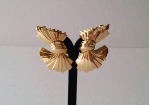 Givenchy Bow Ribbon Clip Ohrringe