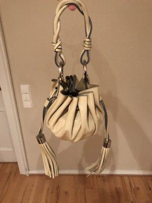 Givenchy Citruille Pumpkin Handtasche Leder beige / vanille