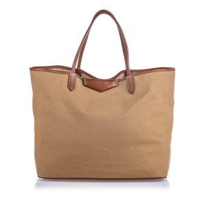 Givenchy Sac fourre-tout marron clair coton