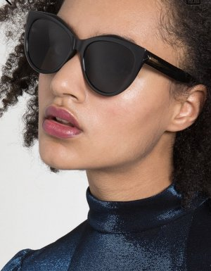 Givenchy Ronde zonnebril zwart