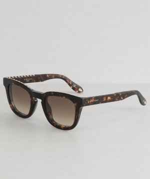Givenchy Butterfly Glasses bronze-colored acetate