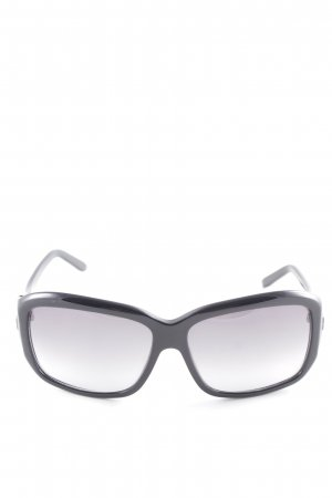 Givenchy Hoekige zonnebril zwart elegant