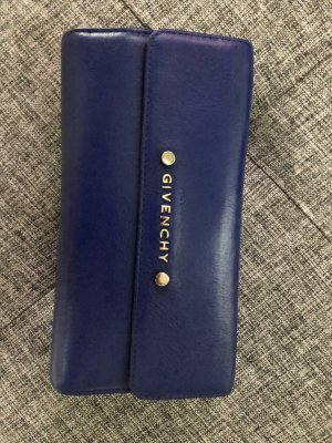 Givenchy Wallet blue leather