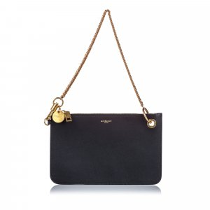 Givenchy Clutch black leather