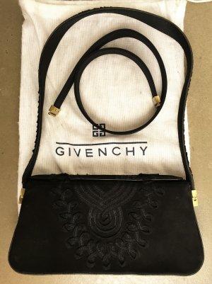 Givenchy Pochette noir-doré daim