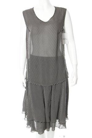 Givenchy Kostüm schwarz-weiß Punktemuster Business-Look