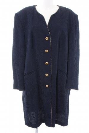 Givenchy Short Coat blue abstract pattern casual look