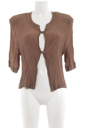 Givenchy Langarm-Bluse grüngrau schlichter Stil