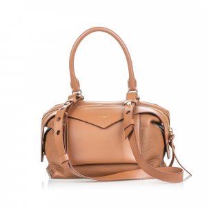Givenchy Leather Sway Small Satchel