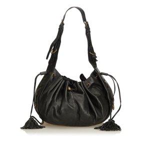 Givenchy Hobotas zwart Leer