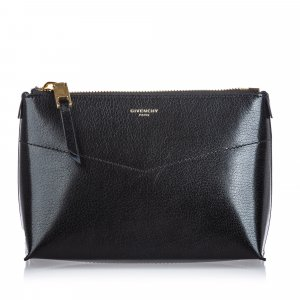 Givenchy Pouch Bag black leather