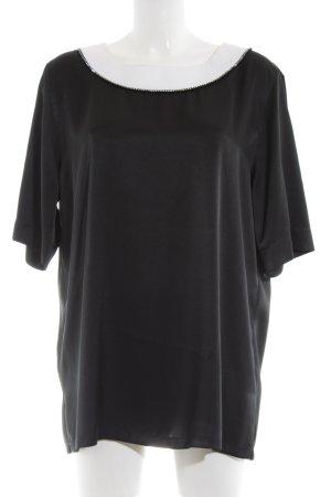 Givenchy Camicia lunga nero-bianco elegante