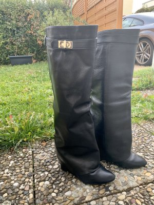 Givenchy Jackboots black-gold-colored