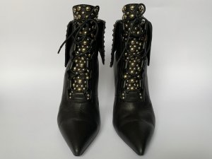 Givenchy Lace-up Booties black leather