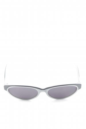 Givenchy ovale Sonnenbrille grau Retro-Look