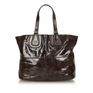 Givenchy Patent Nightingale Tote