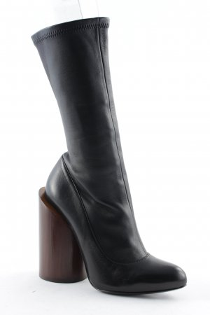 "Givenchy Botas con cremallera ""Boot 12,5 Show Black Brown 36"""