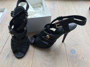 GIVENCHY Sandale schwarz, 1x getragen Gr. 40 Leder mit Karton