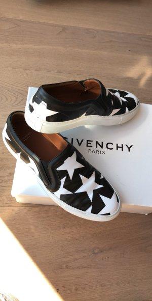 Givenchy Scarpa slip-on bianco-nero