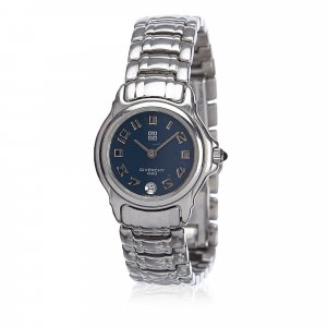 Givenchy Watch silver-colored stainless steel