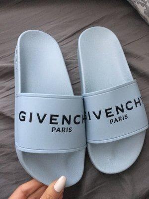 Givenchy Mule gris ardoise-bleu pâle