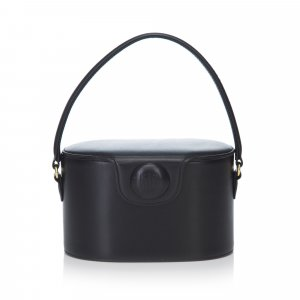 Givenchy Structured Leather Handbag