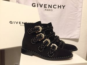 Givenchy Suede Biker Boots Stiefelette