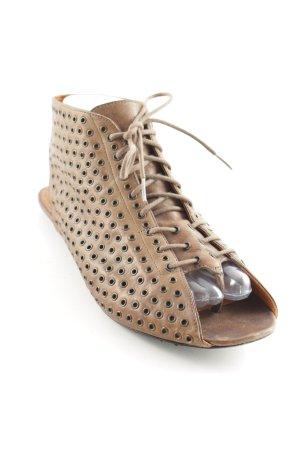 Givenchy Sandalo toe-post marrone stile da moda di strada