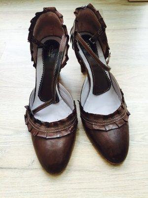 Gixus Schuhe, echtleder innen, außen, die Sohle, Größe 38