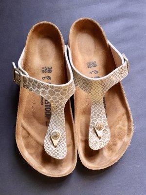 Birkenstock Sandalo toe-post oro