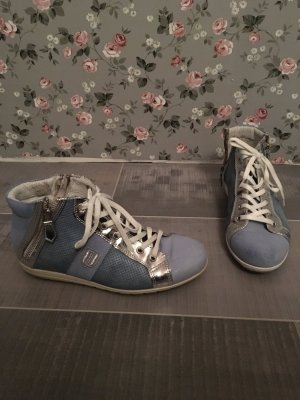 GKM Sneaker blau silber weiß Gr. 37