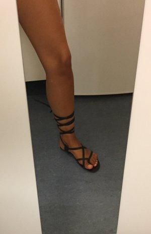 Gladiator Sandalen zum Binden Schnürsandalen