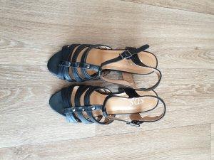 Gladiator Sandaletten mit Absatz