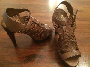 Gladiator Sandals Sandaletten High Heels Leder NEU