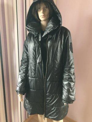 Lauren Vidal Gewatteerde jas zwart