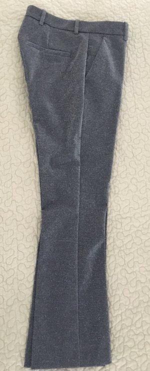 glänzende boot cut Hosen