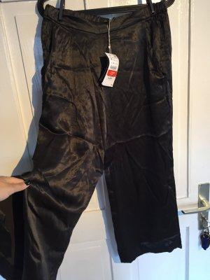 Zara Trafaluc Pantalone culotte antracite
